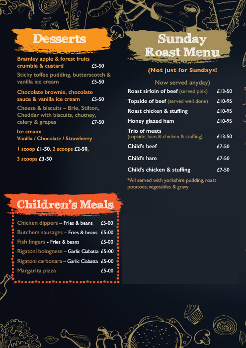 Take Away Menu p4