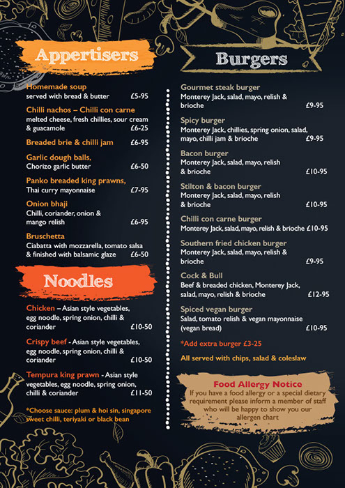Take Away Menu p2
