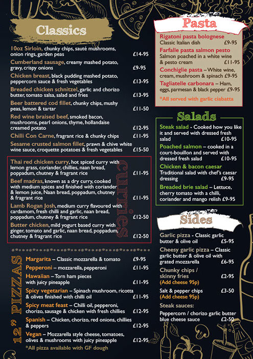 Take Away Menu p3